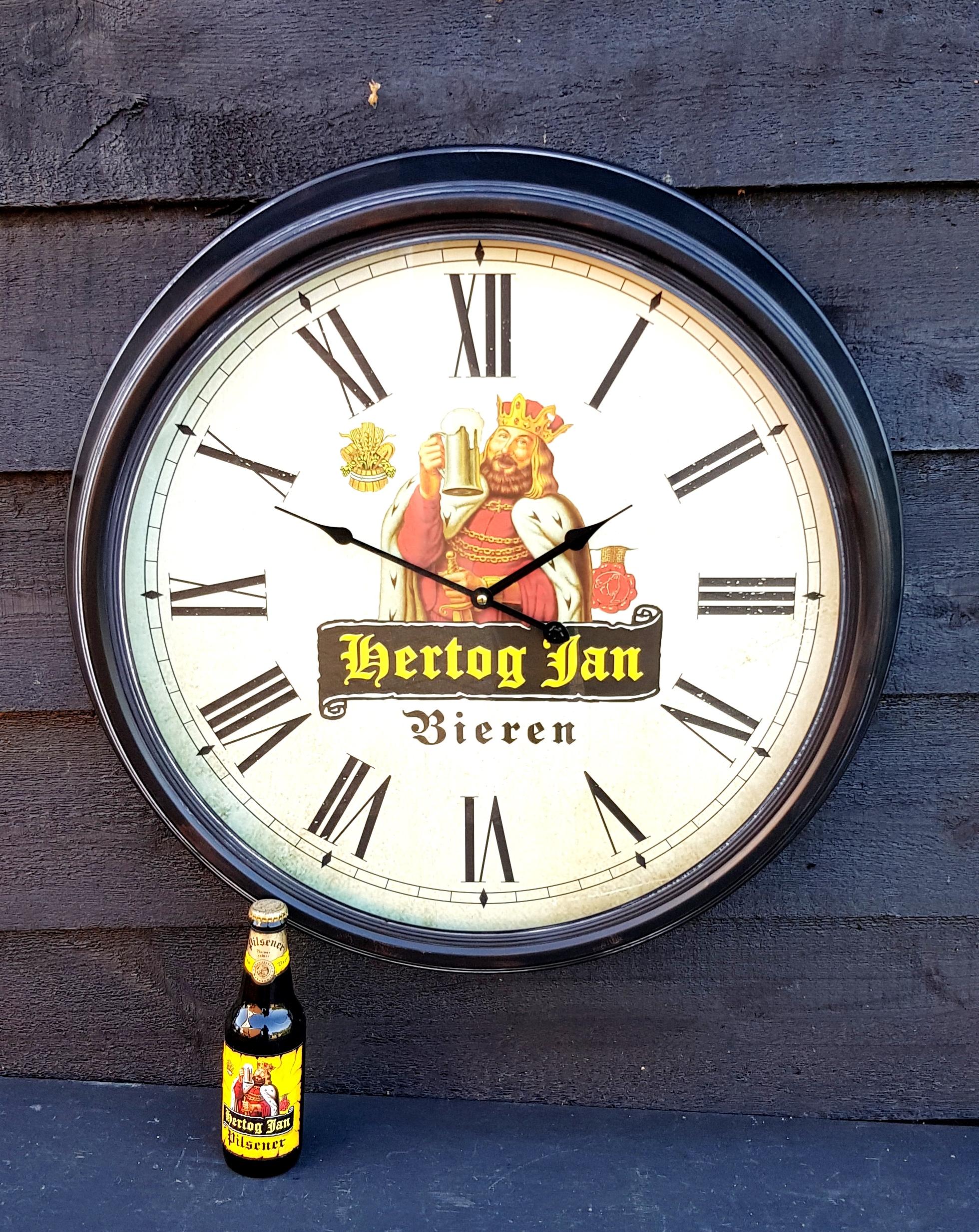 Onwijs Hertog Jan bier klok 62 cm (FH1811) – De Kornschuur XJ-66