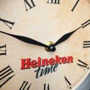 fh2191 heineken bier klok dekornschuur.nl